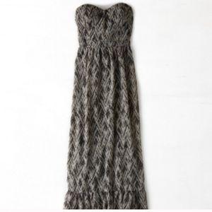 American Eagle Tribal Convertible Maxi Dress